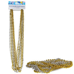 Metallic Party Beads